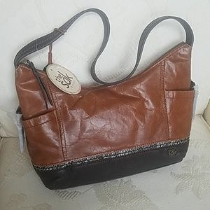 Trendy leather bag